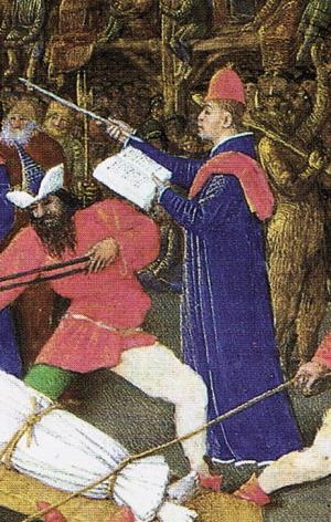 聖史劇の《進行役》